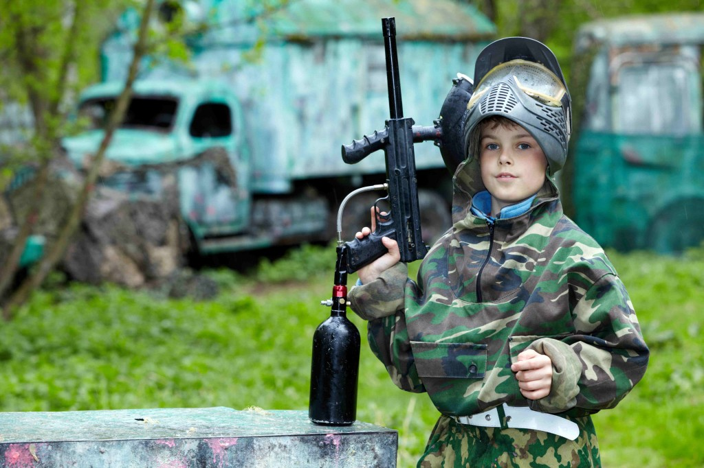 Paintball for Kids: a Great Way to Play War