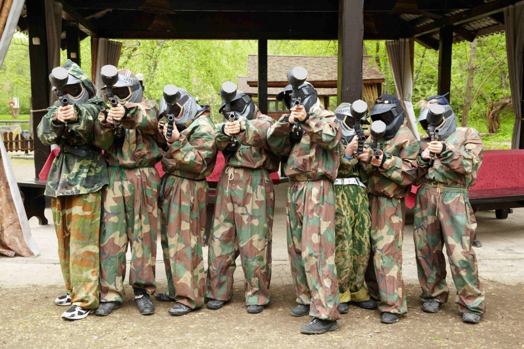 Within Social Clubs, Paintball Reigns Supreme